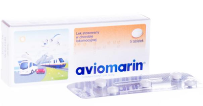 Obrazek Aviomarin 50mg 5 tabletek