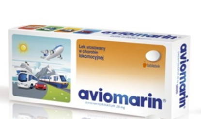 Obrazek Aviomarin 50mg 10 tabletek
