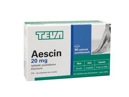 Obrazek Aescin  20 mg 90 tabletek