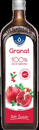 Obrazek Oleofarm 100% sok z owoców granatu 490ml