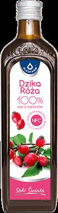 Obrazek Oleofarm Dzika róża 100% sok 490 ml