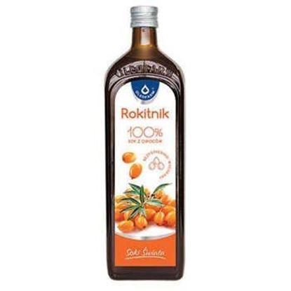 Obrazek Oleofarm Rokitnik 100% sok z owoców 490 ml