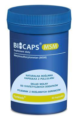 Obrazek BICAPS MSM 60 kapsułek