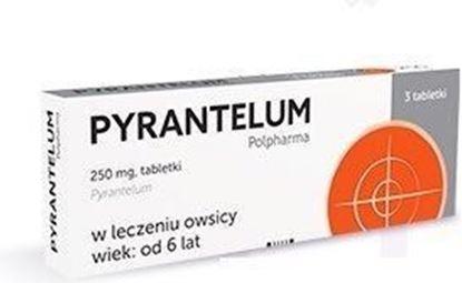 Obrazek Pyrantelum Polpharma  250 mg 3 sztuki
