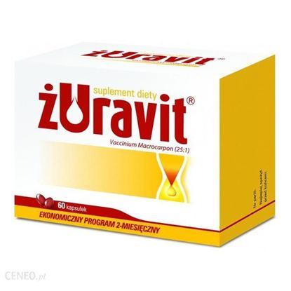 Obrazek Żuravit 220 mg 60 kapsułek