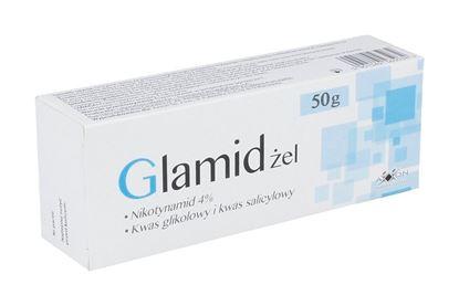 Obrazek Glamid żel na trądzik 50 g