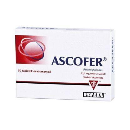 Obrazek Ascofer  200 mg, 50 tabletek