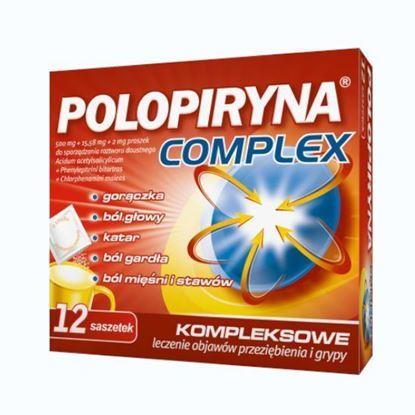 Obrazek Polopiryna Complex proszek 12 saszetek