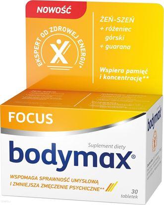 Obrazek Bodymax Focus 30 tabletek