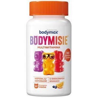Obrazek Bodymax Bodymisie owocowe żelki 60 sztuk