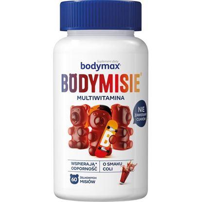 Obrazek Bodymax Bodymisie żelki o smaku coli 60 sztuk