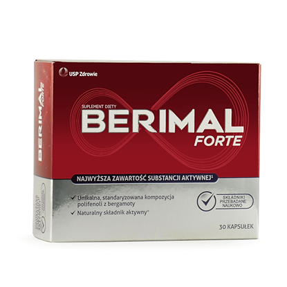 Obrazek Berimal Forte 30 kapsułek