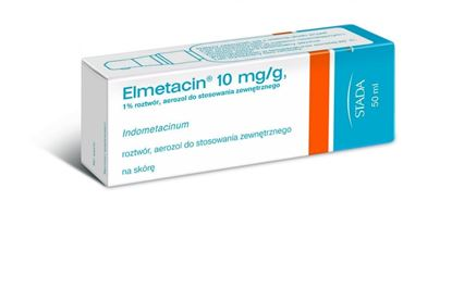 Obrazek Elmetacin 10 mg/g, aerozol,  50 ml