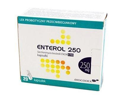 Obrazek Enterol 250, 250 mg, 20 kapsułek