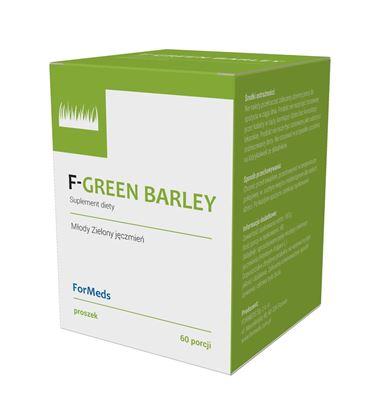 Obrazek F-GREEN BARLEY młody jęczmień 60 porcji (120g)